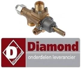 881168001 - Gaskraan voor gasfornuis DIAMOND