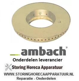 981103041 - Branderdeksel E ø 125 mm AMBACH