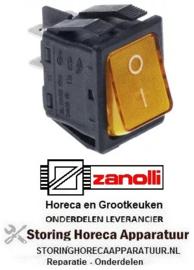 153301002 - Wipschakelaar oranje ZANOLLI