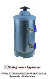 533530120 - Waterontharder manueel met 2 ventielen containercapaciteit 8l harshoeveelheid 5,6l
