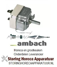 126375001 - Thermostaat instelbereik 30-110°C 1-polig AMBACH