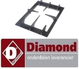 782210027 - Branderrooster voor gasfornuis DIAMOND G17/4
