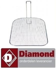 970683.001.23 - KRUIMELZEEF VOOR KUIP VAN FRITEUSE  E65/F DIAMOND