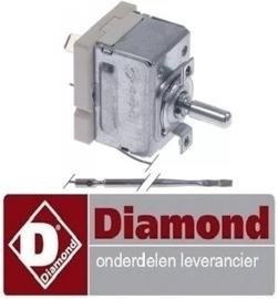 259A06032 - Thermostaat instelbereik 30-280°C 1-polig  voor bakplaat DIAMOND FTE