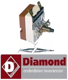 303375619 - Maximaalthermostaat uitschakeltemp. 220°C voor gasfriteuse MIKA DIAMOND