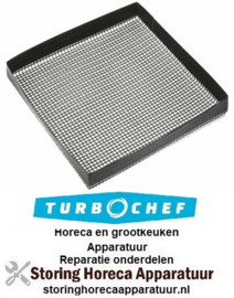 2200270TC01210 - Teflon mat 33 x 33 cm open gaas oven TURBO CHEF