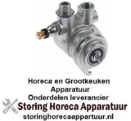 "162501499 - Drukverhogings pompkop FLUID-O-TECH 180l/h aansluiting 3/8"" GAS"