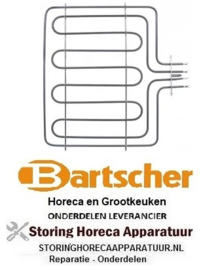 VERWARMINGSELEMENT BARTSCHER HORECA EN GROOTKEUKEN APPARATUUR  REPARATIE, ONDERDELEN