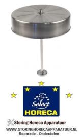 132A038004 - Filterpan aluminium met percolatorpijp HORECA SELECT GCM2009