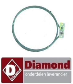 ST9565.007.00 - VERWARMINGSELEMENT VOOR DIAMOND  CPE643F-N