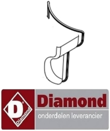 991F2723 - Afdichtingsrubber voor cap toetsenbord aardappelschilmachine DIAMOND PPF-10