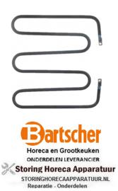 374419012 - Verwarmingselement 800W 230V contactgrill BARTSCHER