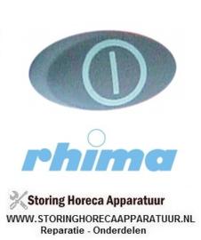 34550900116 - Druktaster blauwgrijs aan-uit  RHIMA