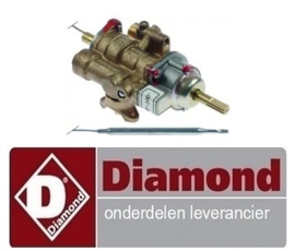 254168005 - Gasthermostaat bakplaat 100-300°C DIAMOND G7/PL4T