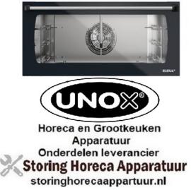 202KVT1067A - Buitenruit Zwart (798x344x5) UNOX XFT183 - Elena Analoog