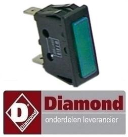 3591013916017 - Signaallamp groen DIAMOND DRINK-38/T