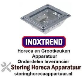 316360503 - Ovenlamp compleet 230V 25W fitting G9 rechthoekig L 70mm B 55mm INOXTREND