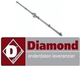575519598 - Naspoelarm compleet voor boven en onder vaatwasser kapmodel DIAMOND 015/25D