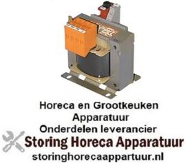 644400104 - Transformator primair 230VAC secundair 24VAC 48VA secundair 1,7A