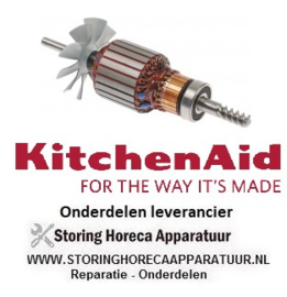 100699475  - Rotor 220-240V L 180mm passend voor KitchenAid