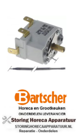 593390718 - Thermostaat instelbereik 50-300°C BARTSCHER