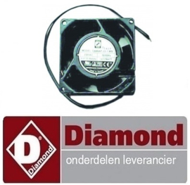 3667200000305 - VENTILATOR OP ZWARTE KADER DIAMOND N200X , PV200X