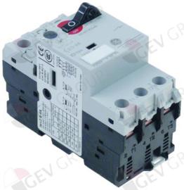380940 - Motorbeschermschakelaar type GPS1BSAH instelbereik 2,5-4A DIN-rail contact schroefklem