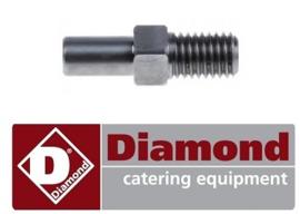 023F2043 - Aandrijfas gehaktmolen DIAMOND TS8