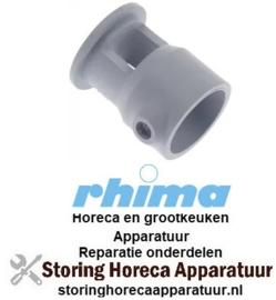 613517197 - Afdekking L 52mm voor overlooppijp ø 32mm vaatwasser RHIMA