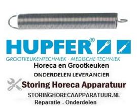 014700516 - Trekveer ø 19,4mm totale lengte 145mm draad ø 1,6mm HUPFER