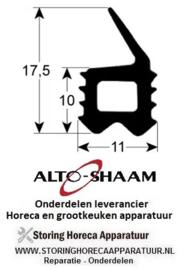 119901132 - Deurrubber profiel 2708 B 545mm L 590mm buitenmaat ALTO-SHAAM