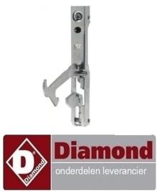 459-584.001.00 - Scharnier voor deur RECHTS - LINKS voor convectie oven DIAMOND