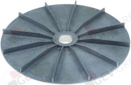 601730 - Ventilatorblad voor motorkoeling AD ø 180mm H 20mm ID ø 20mm RATIONAL