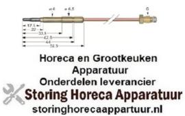 661107605 - Thermokoppel SIT M8x1 L 1500mm steekhuls ø6,0(6,5)mm