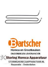 393418934 - Verwarmingselement 1100W 230V GRILLPLAAT BARTSCHER