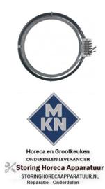 076418750 - Hetelucht Verwarmingselement 15400W 400V voor MKN
