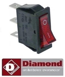 010A07012 - Wipschakelaar DIAMOND VLS1/R
