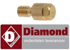 166RTCU700389 - Waakvlaminspuiter flessengas voor gasfornuis DIAMOND C6GA11-SP