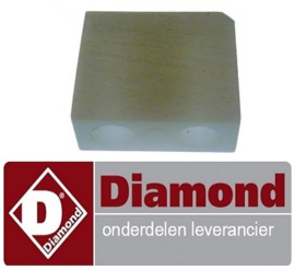 600P04.033 - Rotorschuif voor slagroommachine DIAMOND MCV/2