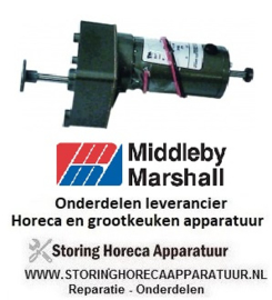 415S0904563 - Motor voor transportband oven Middleby-Marshall