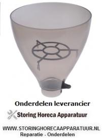 254527664 - Koffiebonencontainer ø 230mm H 265mm afname ø 67 mm