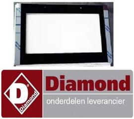 82521100340 - Buitenraam voor oven deur DIAMOND C5FV6-N