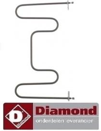 455D02097 -GEWAPENDE WEERSTAND VOOR DIAMOND VLS1/R