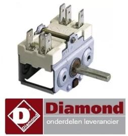 301A.010.22 - Nokkenschakelaar voorzetschakelaar pannenkoekenplaat DIAMOND BRET/2E-R