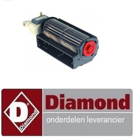 47840701006 - VENTILATOR TANGENTIELLE VOOR GF-1C+DT**/PM DIAMOND