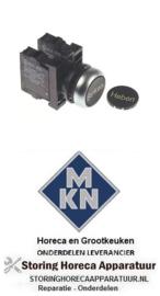 2513464651 - Drukschakelaar inbouw ø22mm 1NC/1NO voor MKN