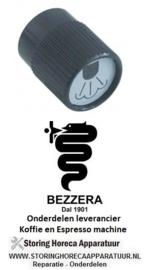 2841.111.20 - Knop stoom ø 38mm zwart BEZZERA