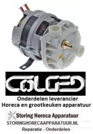 135500020 - Waspomp 230V 50Hz fasen 1 0,18 kW voor vaatwasser  COLGED