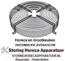 126601949 - Beschermrooster voor ventilatorblad ø 300mm ø 330mm LA 368mm