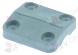 504403 - Naspoelarmhouder H 8mm bovendeel L 30mm Winterhalter